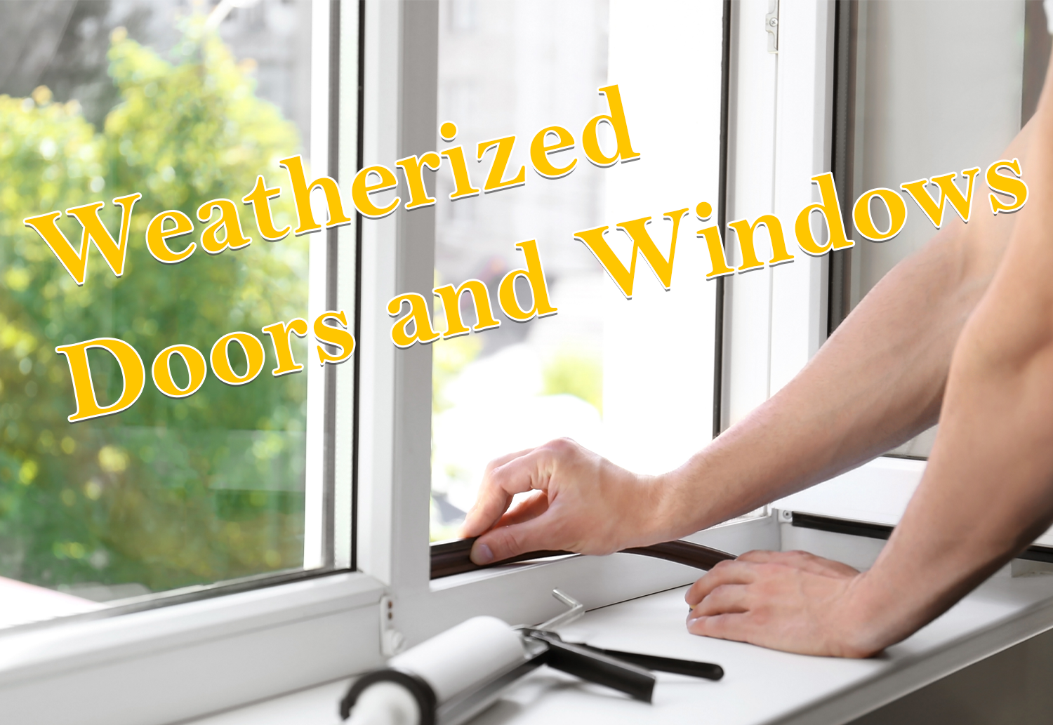Weatherized Doors and Windows